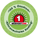 Klimaneutrales Hosting - auf WebHostOne