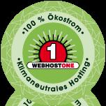 Klimaneutrales Hosting - jetzt günstig auf www.webhostone.de
