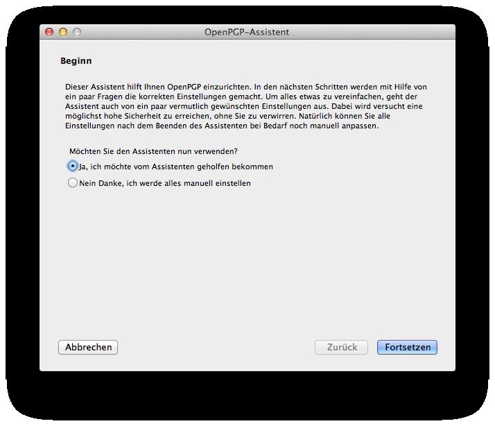 WebhostOne - OpenPGP oder wie verschlüsselt man seine Emails?