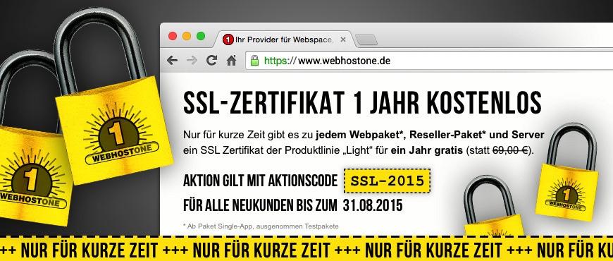 WebhostOne - Exklusives Aktionsangebot