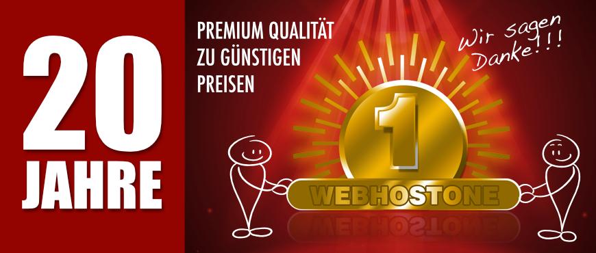 20 Jahre WebhostOne